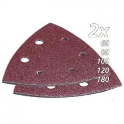Trijstūra formas slīpēšanas papīra komplekts (10 gab.) MAKITA B-21559