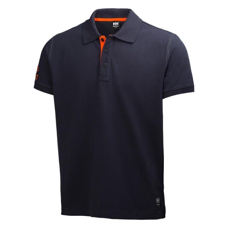 Polo krekls Oxford Polo HELLY HANSEN, tumši zils