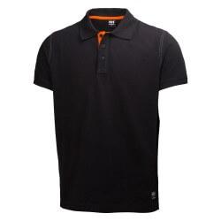 Polo krekls Oxford Polo HELLY HANSEN, melns