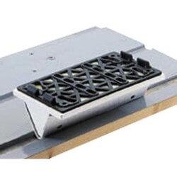 V formas slīpēšanas pamatne FESTOOL SSH-STF-LS130-V10