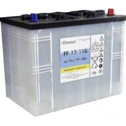Skābes akumulators 12V–110 Ah NILFISK