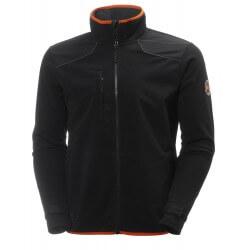 Vēja necaurlaidīgs džemperis HELLY HANSEN Chelsea Wind Fleece, melns
