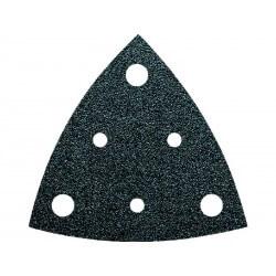 Trijstūra formas perforēts slīpēšanas papīrs K80 FEIN