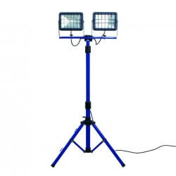 2x30W LED prožektors ar statīvu koferī AS-SCHWABE