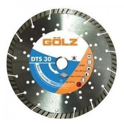 Universāls dimanta disks GOLZ DTS30 125x22,2 mm