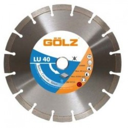 Dimanta disks betonam GOLZ LU40 150x22,2 mm