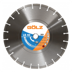 Dimanta disks betonam GOLZ LB40 350x25,4 mm