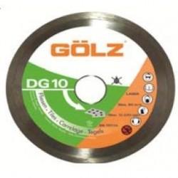 Dimanta disks keramikai GOLZ DG10 125x22,2 mm