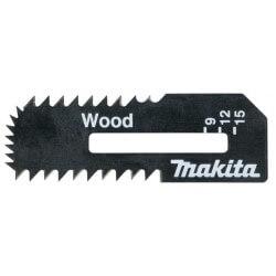 Asmeņi koka plāksnei MAKITA 55x18x0,55 mm 2 gab.