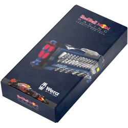Red Bull Racing instrumentu komplekts WERA Tool-Check PLUS (39 daļu)
