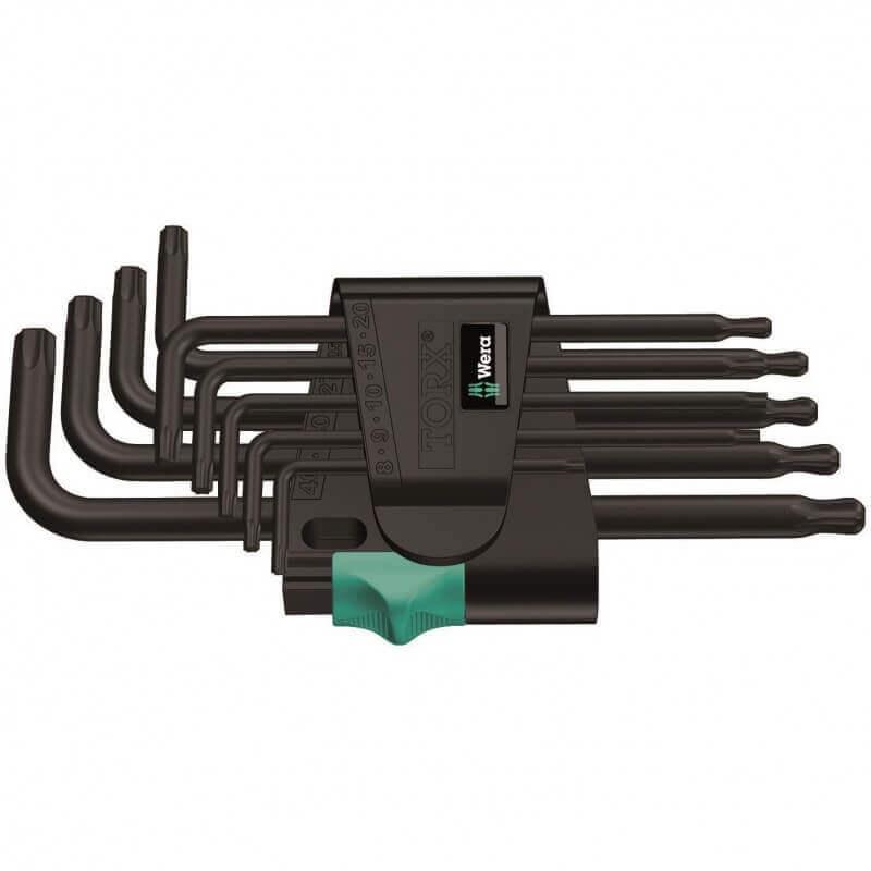 TORX atslēgu komplekts 967 PKL/9 WERA
