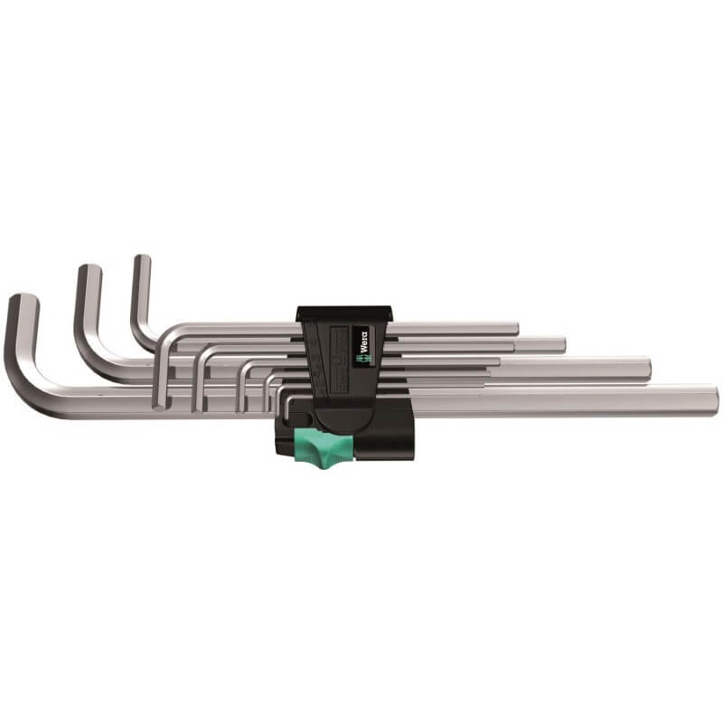 Seškantes atslēgu komplekts 950 L/9 SM N Hex-Plus WERA