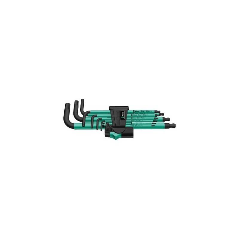 Seškantes atslēgu komplekts 950 SPKL/9 SM WERA