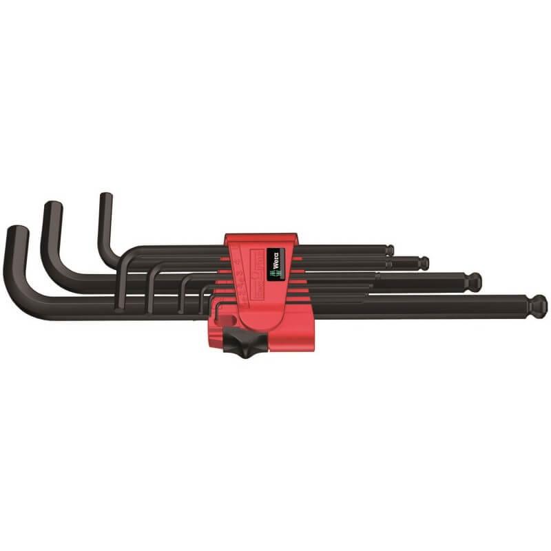 Seškantes atslēgu komplekts 950 PKL/9 BM N WERA