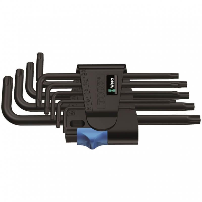 TORX atslēgu komplekts 967 L/9 WERA