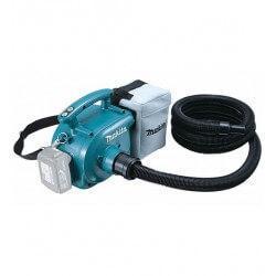 Akumulatora putekļu sūcējs-pūtējs MAKITA DVC350Z