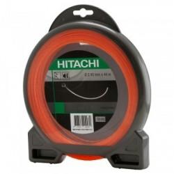 Zāles pļāvēja aukla, kvadrātformas 2,4 mm HITACHI 781024