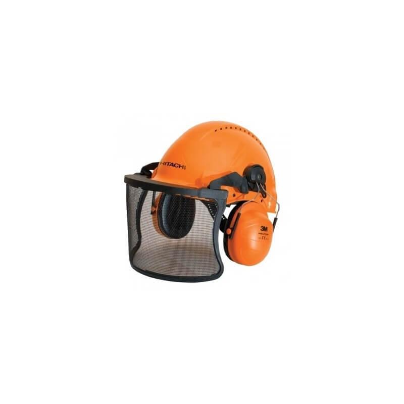 Ķivere ar sejas aizsargu un austiņām HITACHI 713511