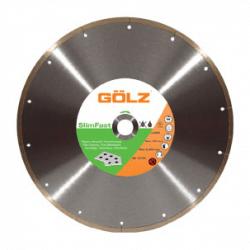 Dimanta disks keramikai GOLZ SlimFast Ø350x25,4mm