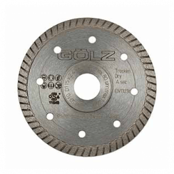 Dimanta disks GOLZ SG10 Ø125x22,2mm