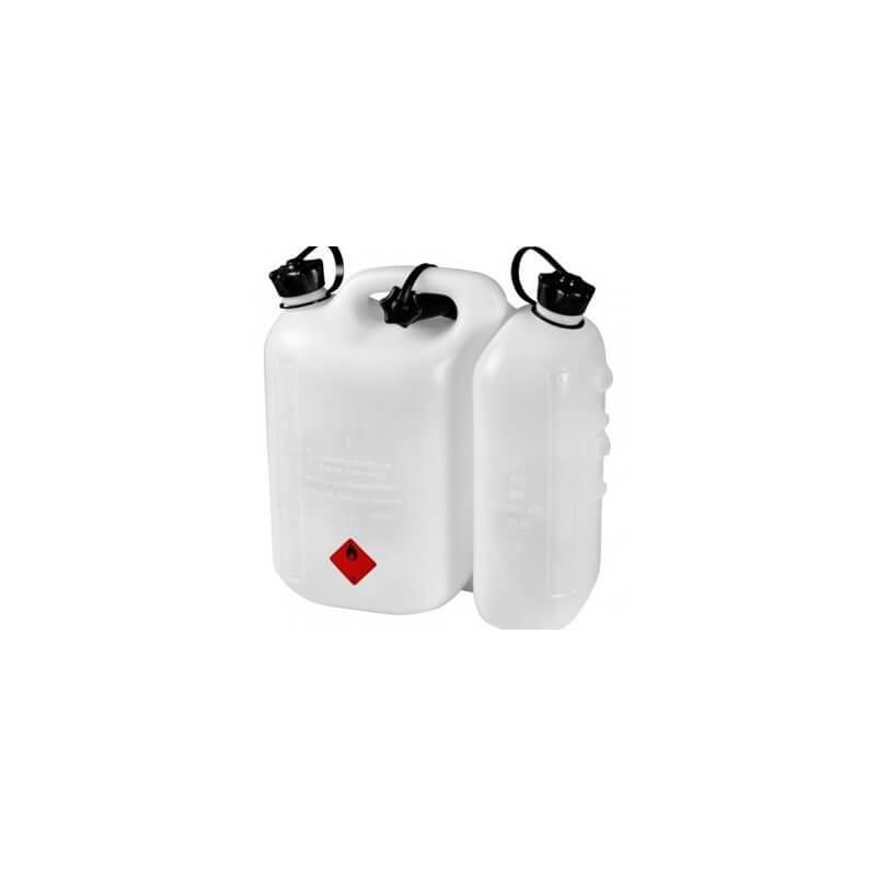 Plastmasas kanna degvielai 5 l + ieeļļošanas eļļai 3 l HITACHI 714822