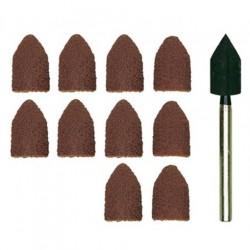 Slīpēšanas rullīši ar turētāju (Ø9 mm) PROXXON