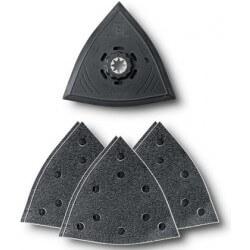 Trijstūra perforētu pamatņu komplekts FEIN (7 gab.)