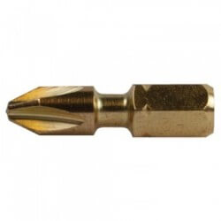 Torsion skrūvēšanas uzgaļi PH 2–25 mm (5 gab.) MAKITA B-28519