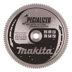 Zāģripa MAKITA Inox 305x25,4x1,95mm 100T -5°