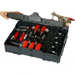 Spīļu komplekts koferī BESSEY STC-S-MFT