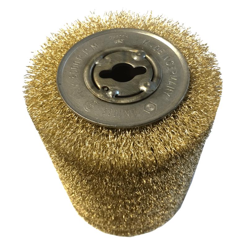Tērauda stieples ar varu pārklāta birste OSBORN D100x120/12,7