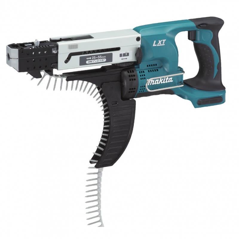 Akumulatora skrūvgriezis ar skrūvju padevi MAKITA DFR550ZX1 bez akumulatora un lādētāja