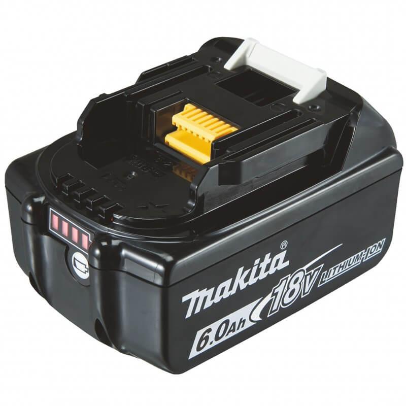Akumulators MAKITA BL1860B 18V, Li-Ion, 6,0 Ah