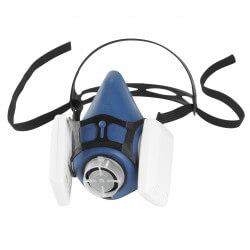 Filtrēšanas pusmaska HONEYWELL 6100V-EC Valuairplus (M)