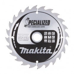 Zāģripa 165x20x1,5 mm 24T 20° MAKITA B-09173