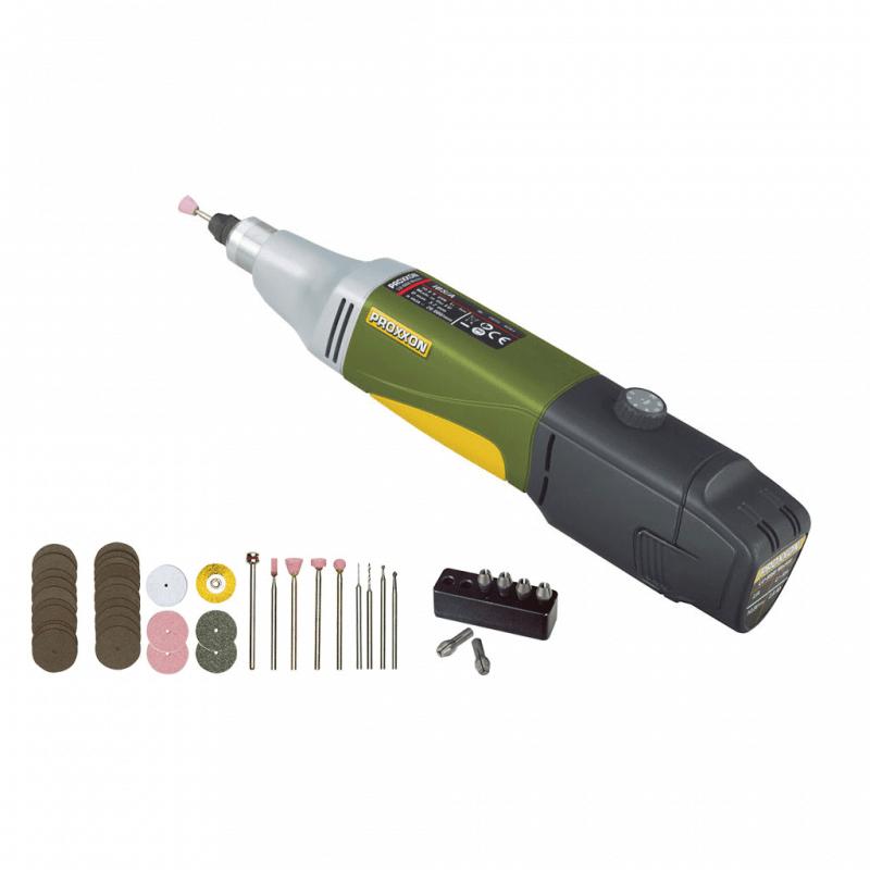 Akumulatora urbjmašīna PROXXON IBS/A ar piederumiem
