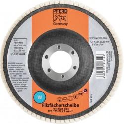 Mīksts pulēšanas disks PFERD FFS 125/22,23 W