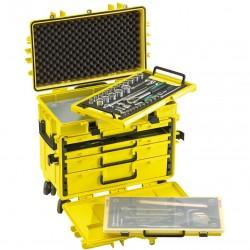 89 daļu ceļojumu koferis ar instrumentiem STAHLWILLE 805/4QR LGE