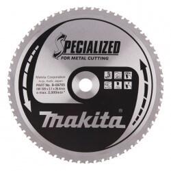 Zāģripa metālam 305x25,4x2,1mm 6 0T 0° MAKITA B-09765