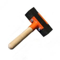 Bruģakmens āmurs ar īsu rokturi BELLE