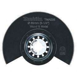 Multifunkcionāla instrumenta piederums kokam, metālam 85 mm MAKITA B-21325