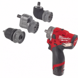 Akumulatora skrūvgriezis-urbjmašīna MILWAUKEE M12 FPDXKIT-202X