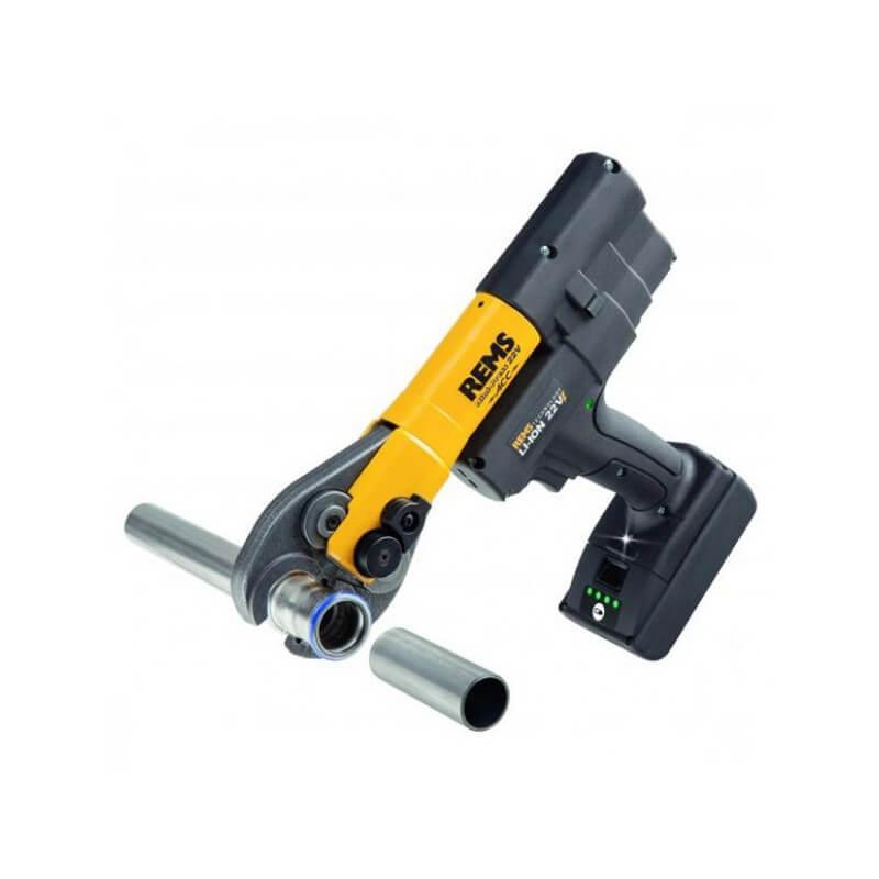 Cauruļu presēšanas instruments REMS Mini-Press 22V