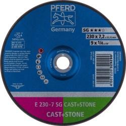 Slīpēšanas disks PFERD E230-7 SG Cast+Iron