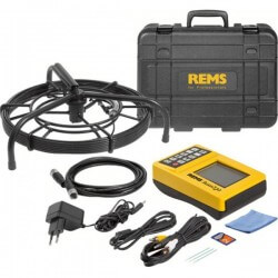 Cauruļvadu caurskatīšanas kamera REMS CamSys Set S-Color 30 H