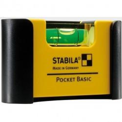 Līmeņrādis ar ieliktni STABILA 101 POCKET Basic