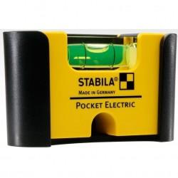 Līmeņrādis ar ieliktni STABILA 101 POCKET Electric