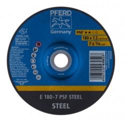 Tērauda slīpēšanas disks PFERD PSF Ø178x7x22mm A30