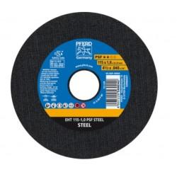 Metāla griešanas disks PFERD EHT 115x1,0mm A60 P PSF