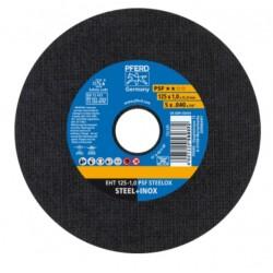 Nerūsējošā tērauda griešanas disks PFERD EHT 125x1,0mm A60 P PSF-INOX